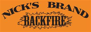 Nick's Backfire Brand Seasonings Logo