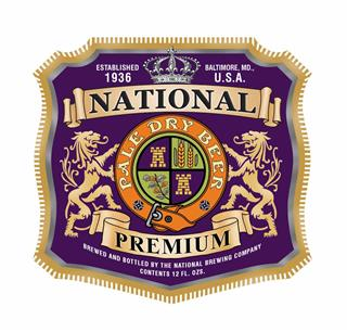 National Premium Beer Logo