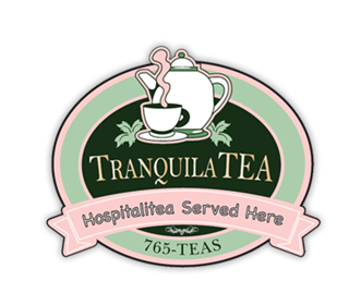 TranquilaTEA Tea Room & Gift Shop Logo