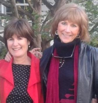 Kathy bernard and Barbara Kline