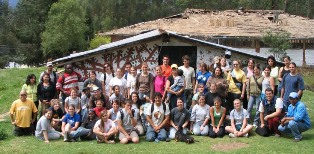 SU students in Ecuador