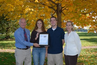 SU's Habitat for Humanity honored