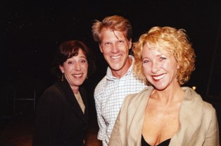 From left, Kelley Rouse, John Ebert and Martha Pfeiffer star in 'Mono a Mono'