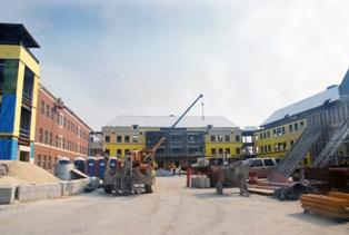 Construction of TETC
