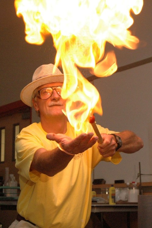 Fire and Ice Demonstration