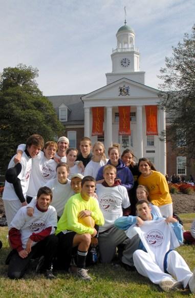 The Winning Kickball Team
