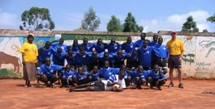 Ugandan soccer team organized by Ravizza