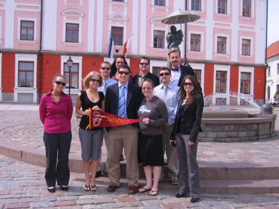 SU Students in Northern Europe