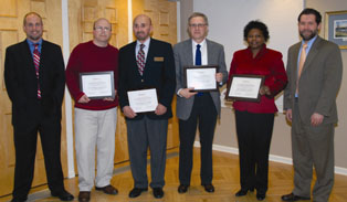 Faculty Appreciation Award Winners