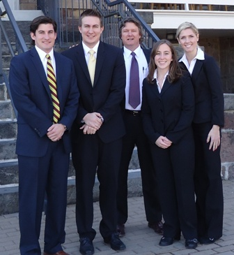 Hunter McIntyre, John Stockel, Dr. Mo Brown, Kayla Smith, and Brittany Droogh
