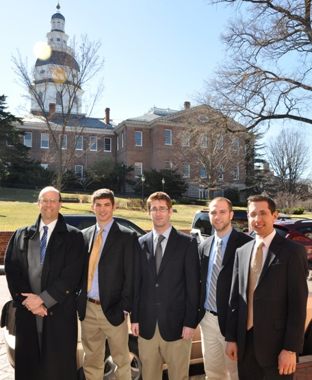 SU interns for Maryland General Assembly