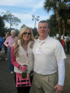 Dr. Rick Helton with Paige Hemmis