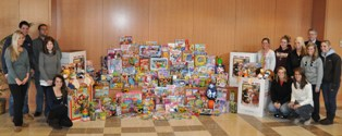 Perdue School Toys For Tots Donation