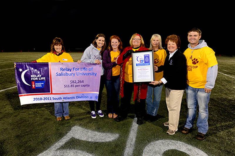 Relay For Life Award