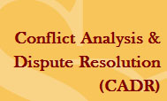 Conflict Analysis and Dispute Resolution