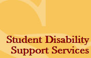 Student Disability Support Services