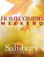Homecoming Weekend Leaf Logo
