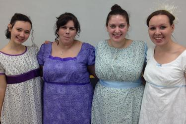 Pride and Prejudice costumes
