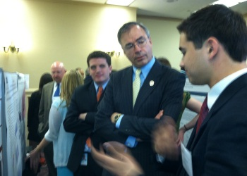 Congressman Andy Harris with Samim Manizade