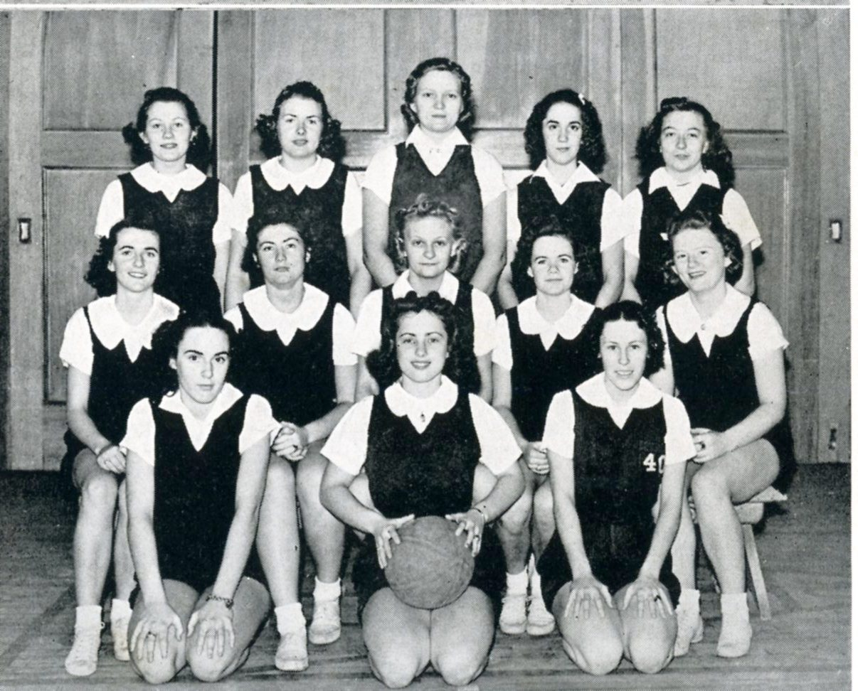 1939 SU Women's Basketball Team