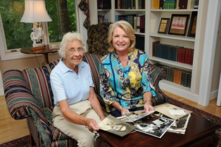 Ruth Bennett and Susan Purnell