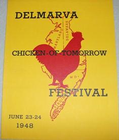 1948 Delmarva Chicken Festival Program