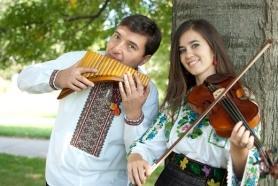 Drs. Andrei Pidkivka and Solomia Gorokhivska