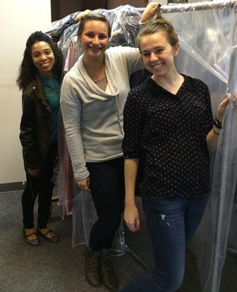 Amber Augone, Tori Paris and Meghan Delanoy