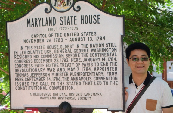 MD State House Sign