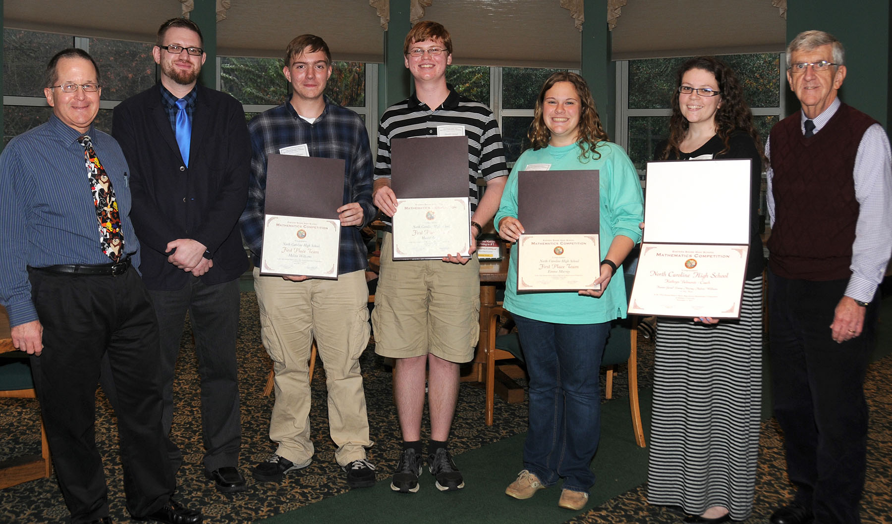 32nd annual Eastern Shore High School Mathematics Competition