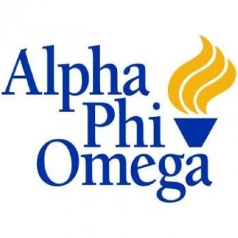 Alpha Phi Omega chapter logo