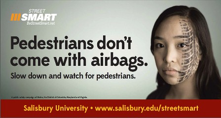 Pedestrian Saftey Message