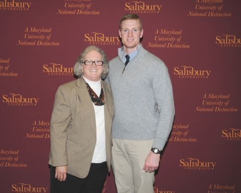 Dr. Diane Allen and Connor Cooney