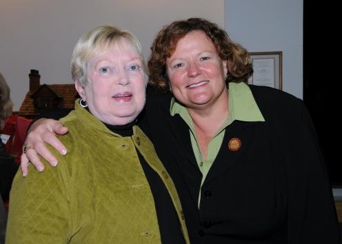 Marilyn Seidel & SU President Janet Dudley-Eshbach