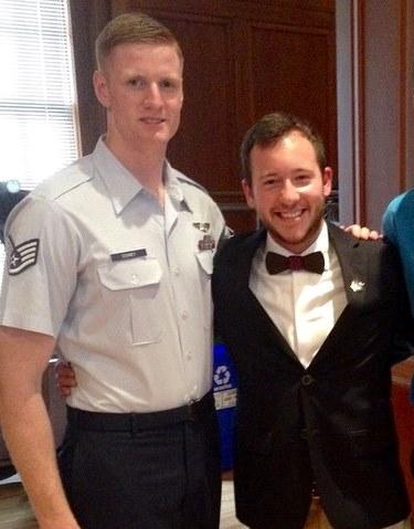 Connor Cooney (left) and Nick Engelhardt