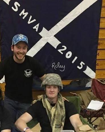 Nick Engelhardt (left) and Connor Cooney