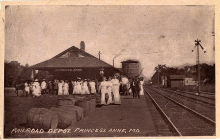 Princess Anne Railroad Depot