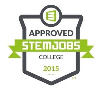 Approved STEM jobs logo