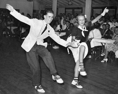 Shag dancing