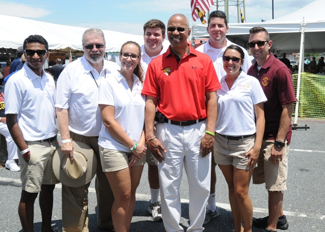SU Faculty, Staff and Students at the Crab and Clambake Festival