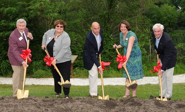 Ward Museum Legacy Center groundbreaking