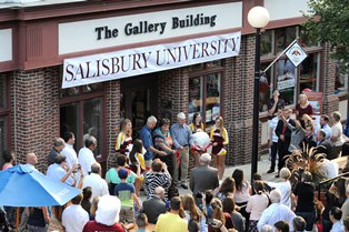 Gallery Building dedication
