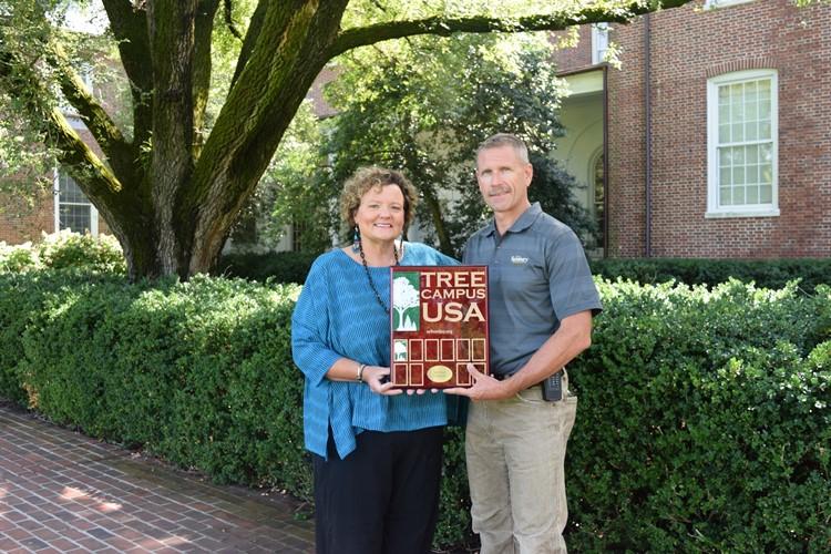 SU receives Tree Campus USA award