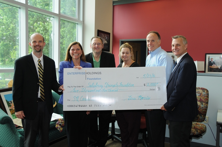 Enterprise Donating to the SU Volunteer Center