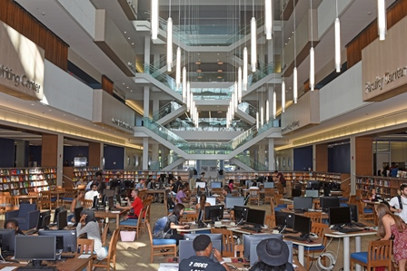 Patricia R. Guerrieri Academic Commons Atrium