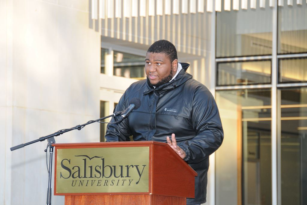 SU Student Dominic Williams