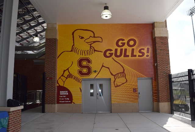 Concourse mural