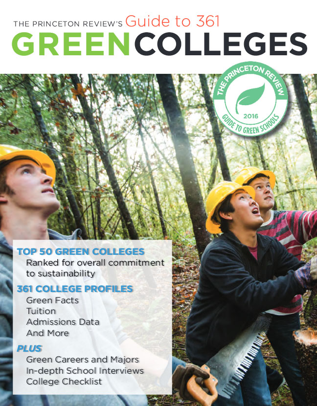 Guide to Green Colleges