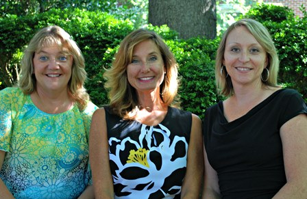 Mary Angela Baker, Cheryl Bozick and Michelle Burchfield