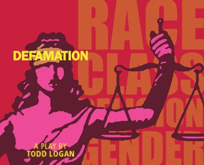 Defamation Play Poster